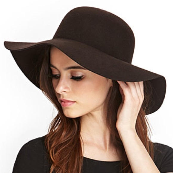 2c92169877e47 Forever 21 Accessories - Brown floppy hat